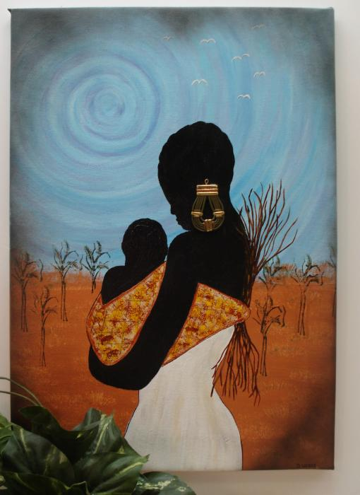 African Mother by Denise Cummings